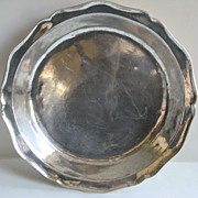 Spanish Colonial Silver Wedding Bowl