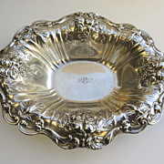 "Francis I Reed Barton Sterling Footed Bowl 12 1/2"" by 10"""