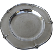 Vintage Silver Plate Dish Plate Nice Shape Coaster