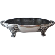 Old Sheffield Fused Silver Entree Server Base by Creswick c 1800