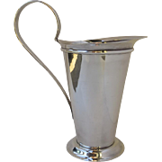 Designed by Robert A.M. Stern for Swid Powell in the 1980's Silver Plate Water Pitcher