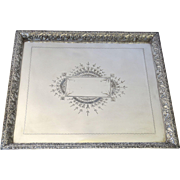 Rectangular Tray by Lexington  Quadruple Plate