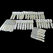 Towle Contour Sterling Silver Flatware 45 Pieces