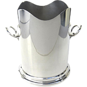 Late 19th Century Silverplate Wine Cooler  Made in England by William Shirtcliffe & Son