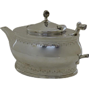 Teapot John Round & Son 1874-1886 England Silver Plate As Is