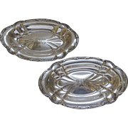 Pair of Gorham Silver Plate Bowls c 1903