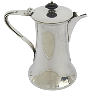 English Silver Plated Coffee Pot Early 19th Century by Joseph Rogers & Sons Sheffield