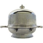 Butter Dish by James W. Tufts