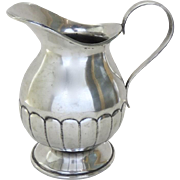 Vintage Spanish Colonial Style Silver Plated Pitcher
