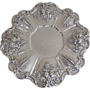 Reed and Barton Sterling Silver Francis I Tray  Platter
