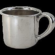 Vintage Webster Sterling Silver Baby Cup