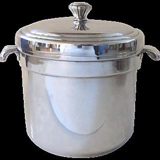 Vintage International Silver Co. Silver Plated Ice Bucket Barware