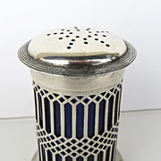 Sterling Silver Pepper Pot c 1902