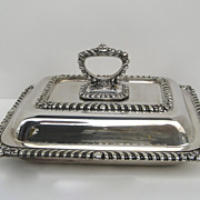 Sheffield Silver Plate Entree Server c 1840