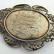 18th Century Silver Pin
