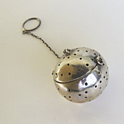 Sterling Silver American Tea Ball