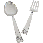 Sterling Silver Youth Child's Baby Spoon Fork