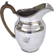 Old Sheffield Fused Silver Large Jug Water Pitcher
