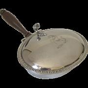 Vintage Sheffield Silver Plated Silent Butler Engraved Horse
