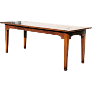 French Fruitwood Farm House Table