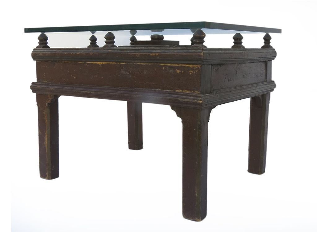 Spanish provincial table from blacktulip on ruby lane for Table in spanish