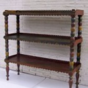 Painted Three Tiered Dumb Waiter