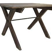 "Provincial ""X"" Leg Base Table"
