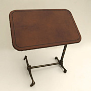 American Copper Anodized Reading Table