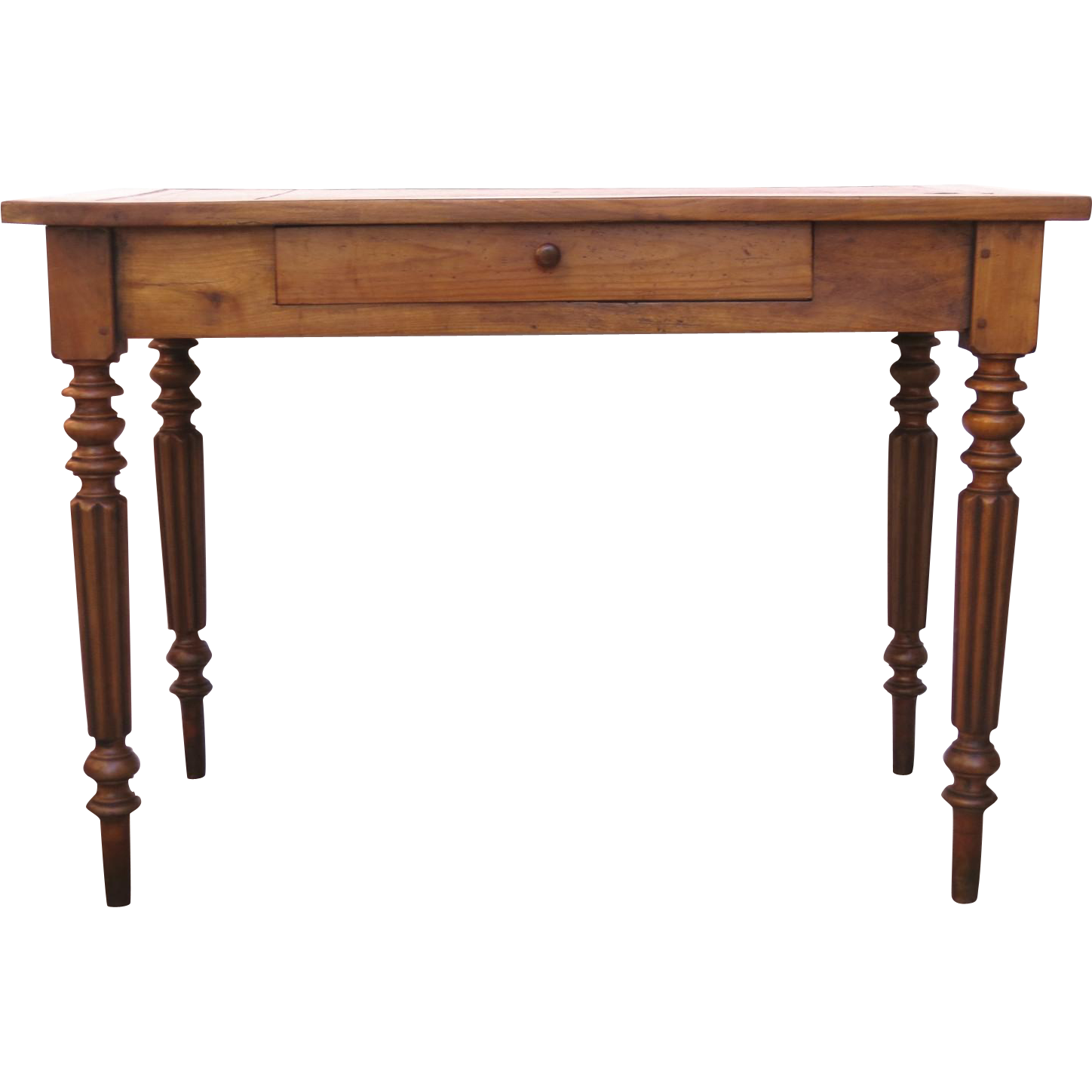 French Fruitwood 19th Century Small Writing Table Desk