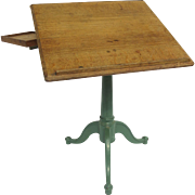 Vintage Draughting and Engineering Table by Weil & CO