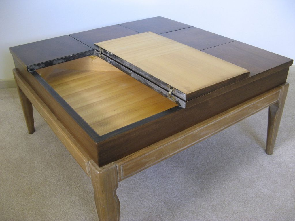 Drexel mid century limed legs lift top coffee table by john van roll over large image to magnify click large image to zoom geotapseo Image collections