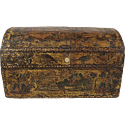 Antique Decoupage Box