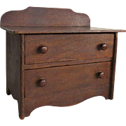Late 19th Century Early 20th Century Child's Doll Dollhouse Chest of Drawers