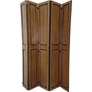 """Bird's Eye Maple Hinged Screen Room Divider 43"""" by 44"""""""