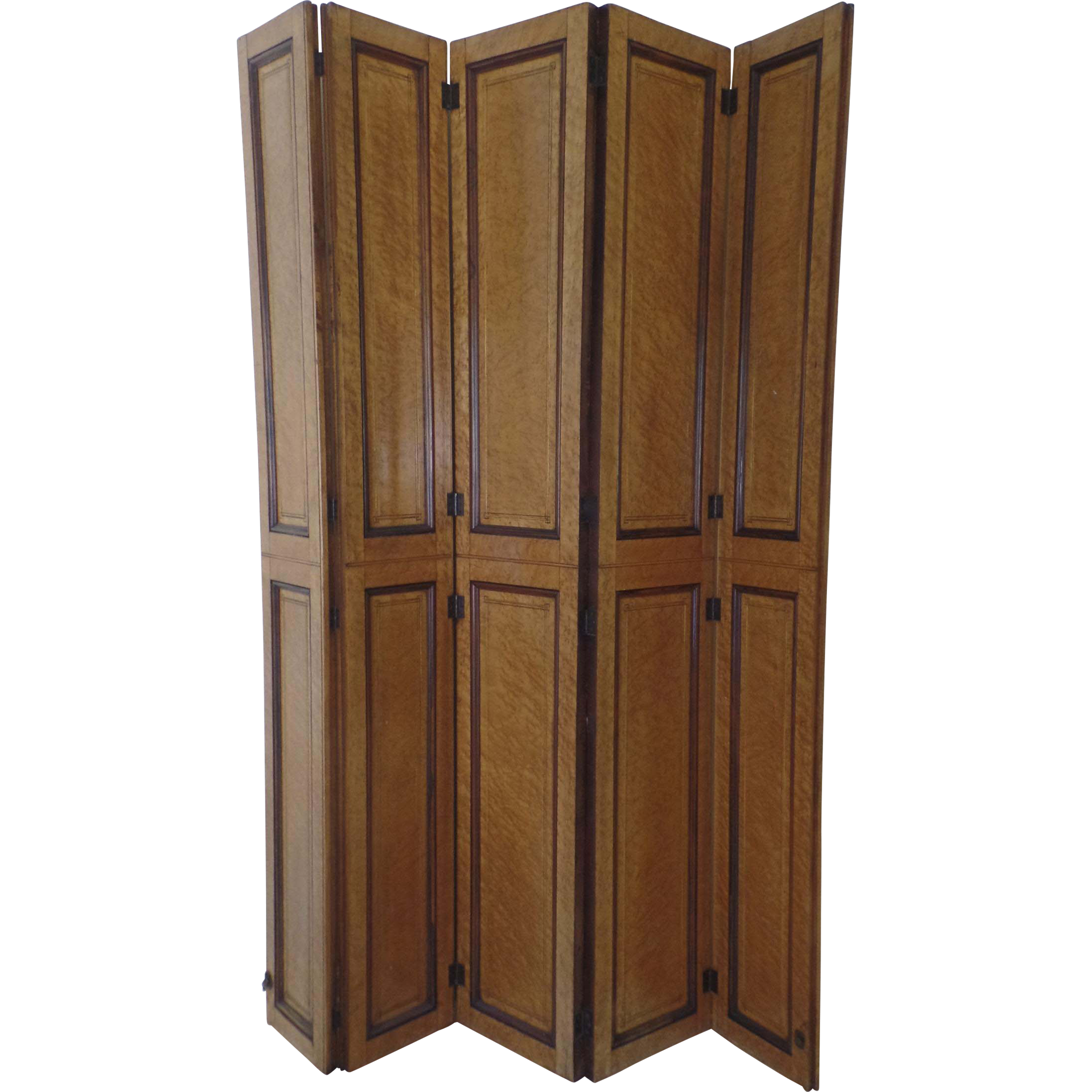 Https Www Rubylane Com Item 741898 Wx2e450 Birdx27s Eye Maple Hinged Screen Room