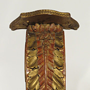 Italian Carved Gilt Wall Bracket