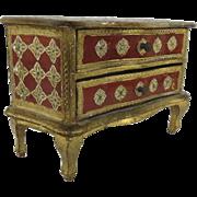 VIntage Florentine Mini Jewelry Box