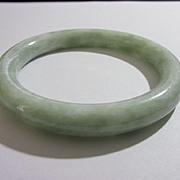 Vintage Mint Green Jade Bangle
