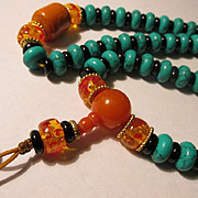 Fifty-Six Bead Asian Rosary Replica