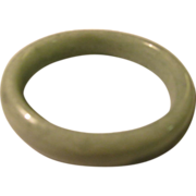 Green Chinese Jade Bangle Bracelet