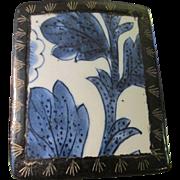 Chinese Blue-and-White Pottery Shard Trinket Box