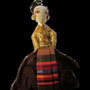 Spanish Senorita Hand Towel Doll