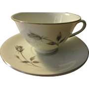 Royal Monaco Rose Cup and Saucer