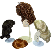 4 Wigs-lot four