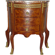 Supurb 19thC Three-Drawer Cabinet, Matrisse Miniature