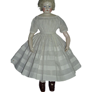 Early Dress with Separate Slip, Enfantine Style