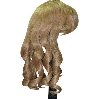 "Dark Blond Hair Wig, 13"" hc"