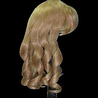 """Dark Blond Hair Wig, 13"""" hc"""
