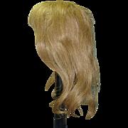 "Strawberry Blond Wig, 15"" hc"