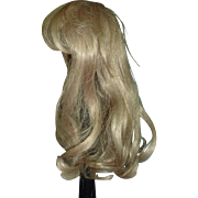 "Blond Wig, 11"" hc"